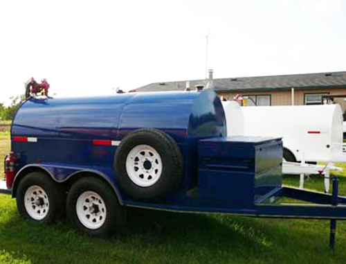 750 Gallon Portable Fuel Tank