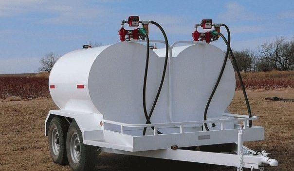 dual portable fuel tanks tow kit