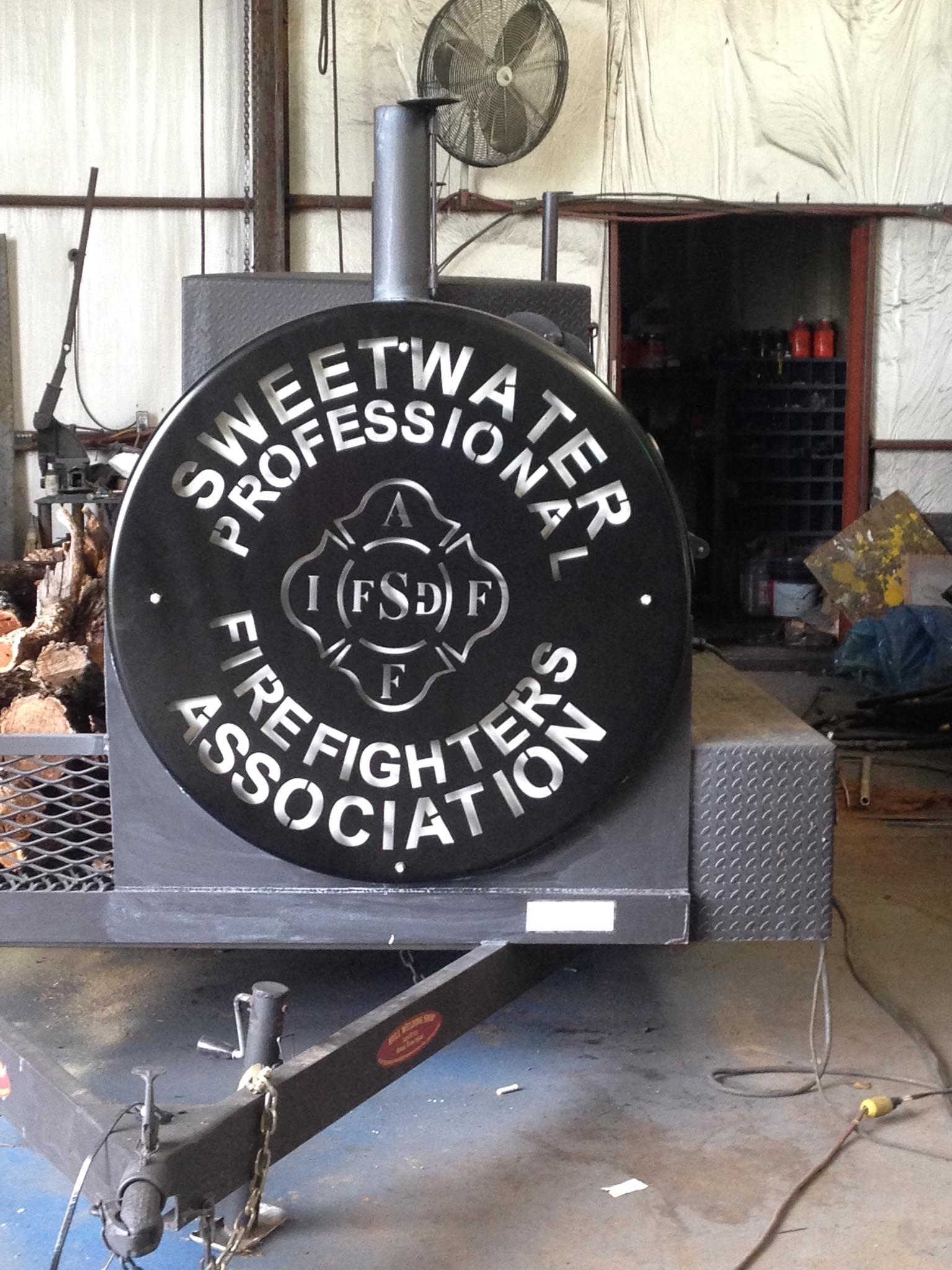 custom welding sign