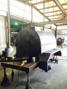 welding a Hull portable fuel tank