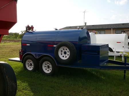 750 gallon portable fuel tank
