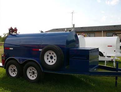 750 Gallon Diesel Fuel Tank & Trailer