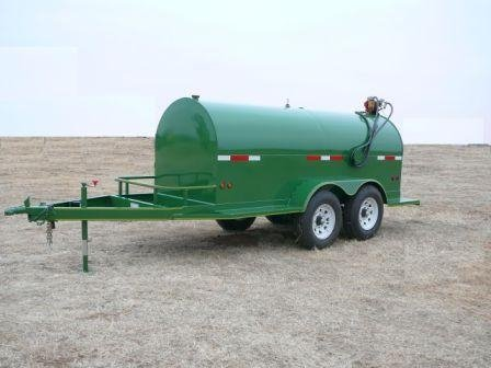 Hull 1000 Gallon Diesel Fuel tanks and trailers