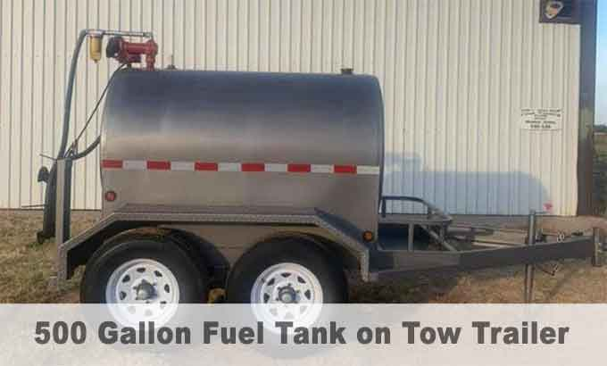 500 gallon large capacity fuel tanks hull welding