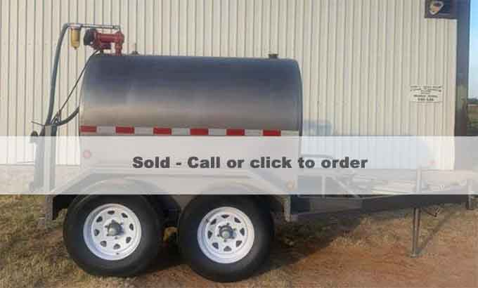Ready to ship 500 gallon diesel fuel tank
